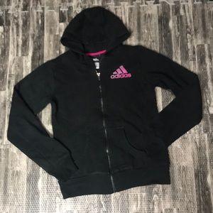 Adidas XL 16 zip up sweatshirt